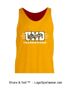 Adult Mini Mesh Reversible Tank Design Zoom
